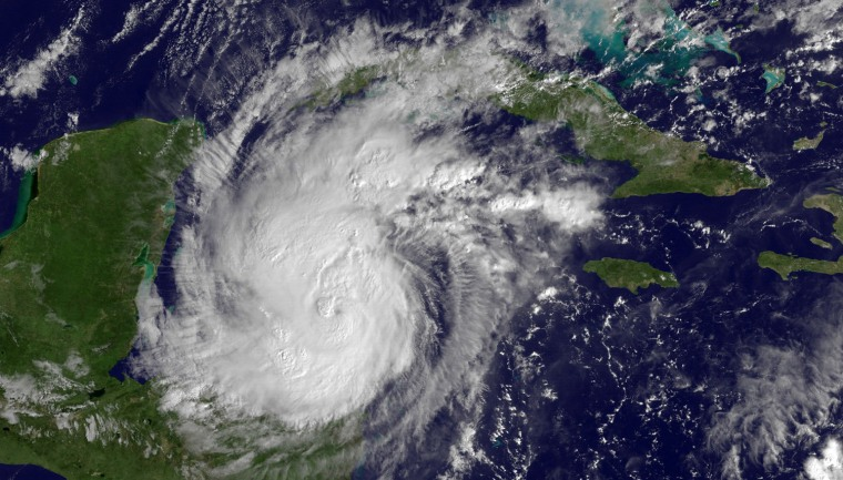 Image: Hurricane Rina At Category 2 And Strengthening