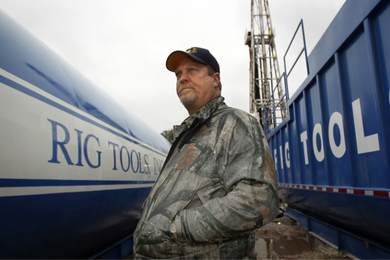 Image: Kevin B. Koonce, a landman who worked cancelling leases