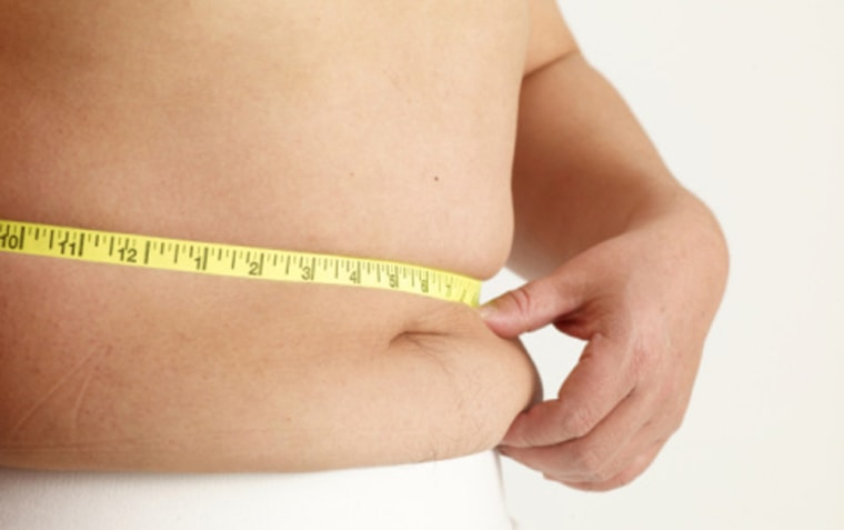 Image: Measuring stomach fat