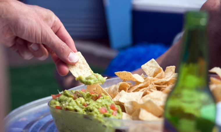 Image: Hand in dip