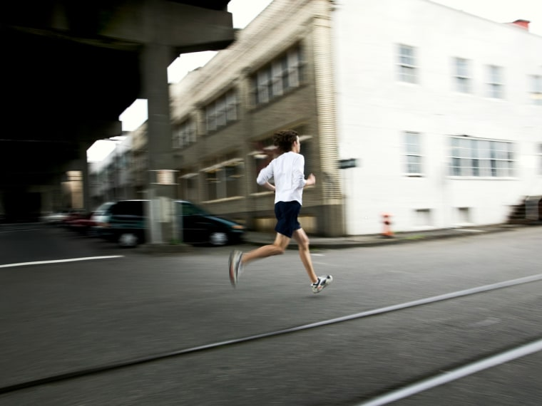To help combat the effects of pollution on your health, avoid running at rush hour, experts say.