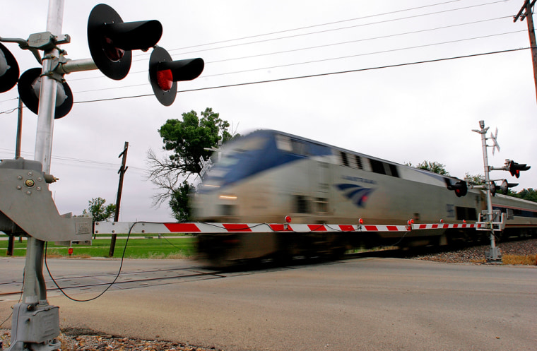Image: Train travel