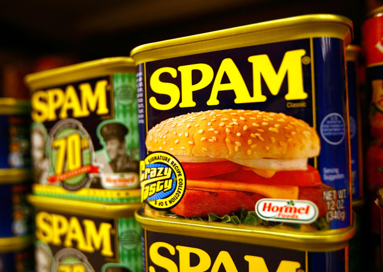 Image: Spam cans