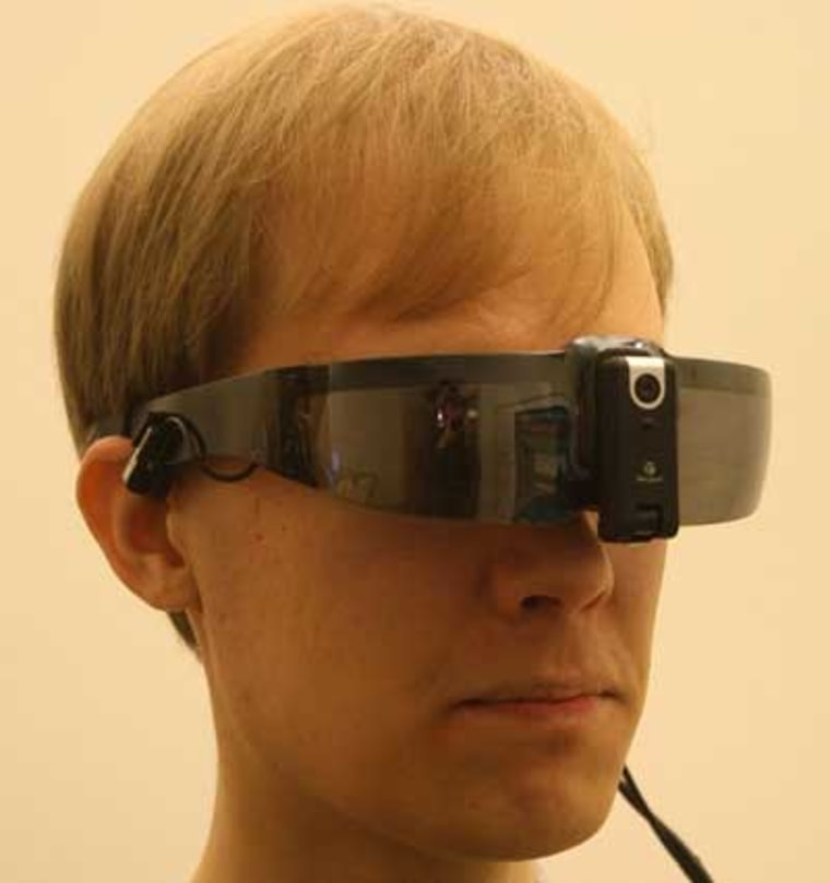 Augmented reality glasses infuse your environment with relevant information.
