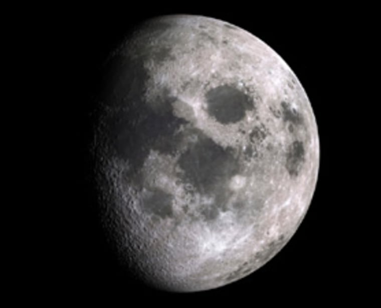 """A Japanese craft recently """"sniffed"""" the atmosphere of the moon, which is so thin, it is referred to as an exosphere."""