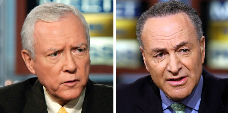 Image: Orrin Hatch and Charles Schumer