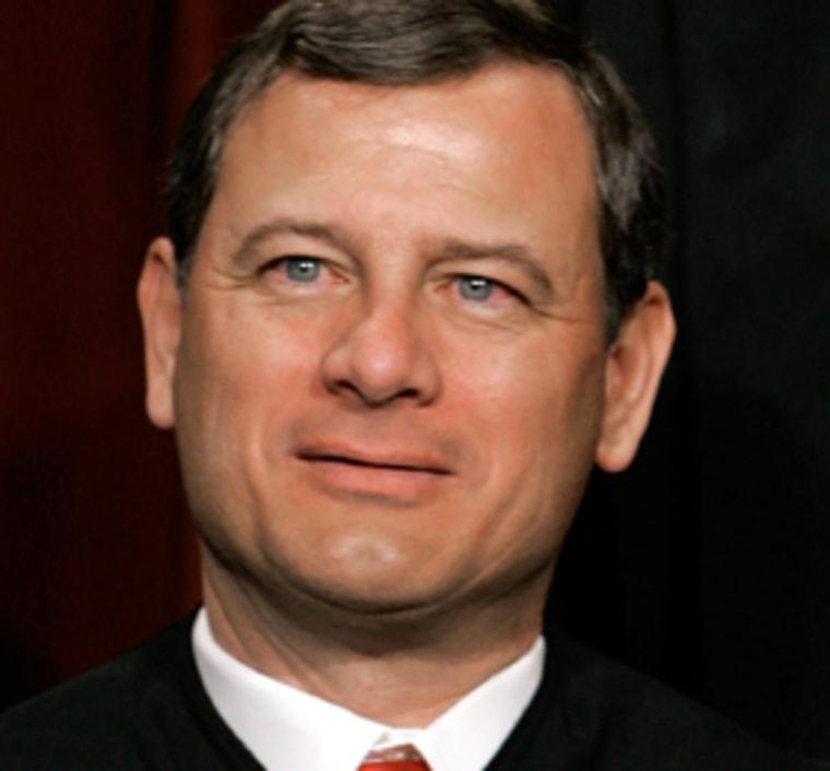 Supreme Court Justices Pose For Annual Portrait