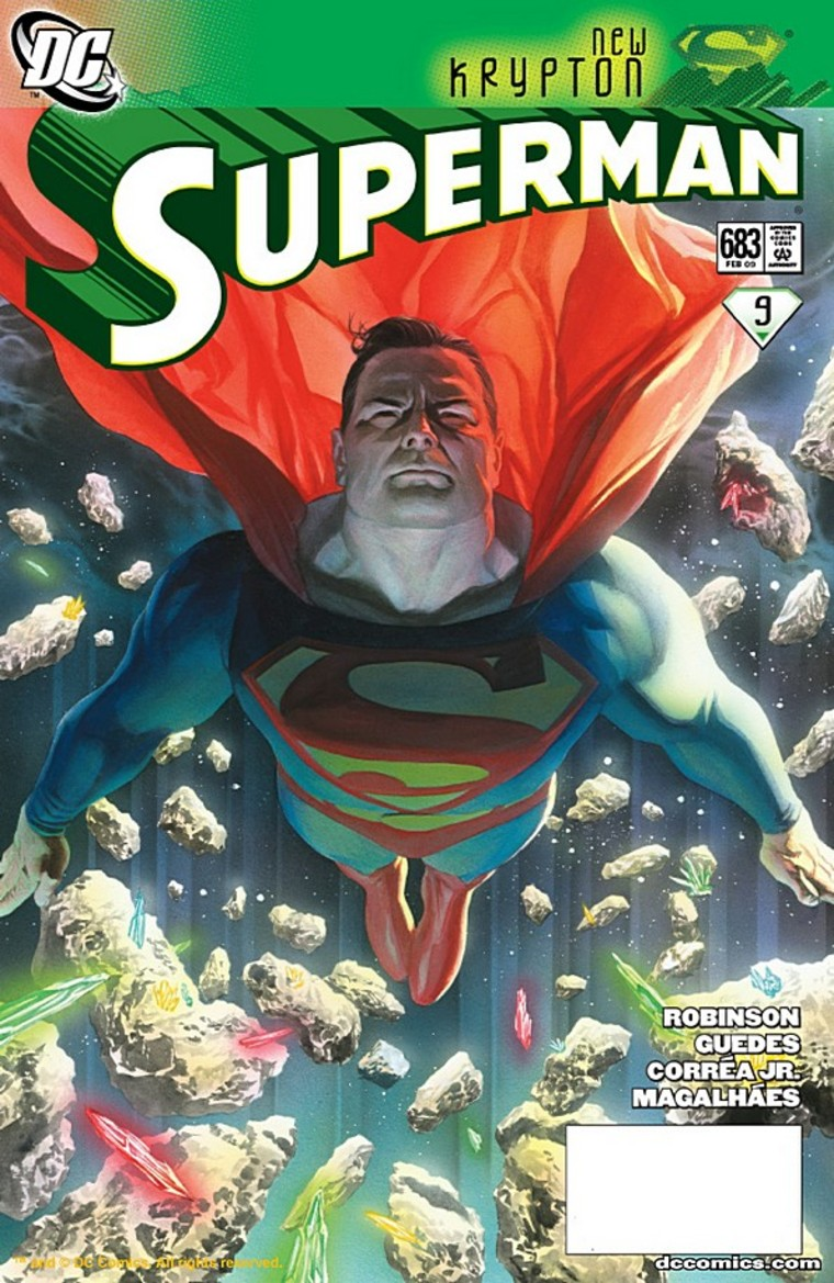 """For those keeping their eyes open, there was a welcome return in last week's Superman #683 in Part 9 of the """"New Krypton"""" storyline (featuring 100,000 Kryptonians like Superman coming to earth) – non-white Kryptonians were clearly shown."""