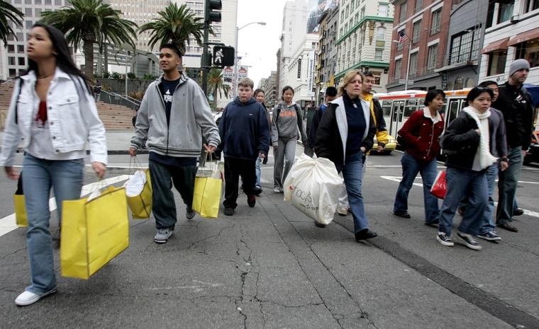 Image: Holiday shopping
