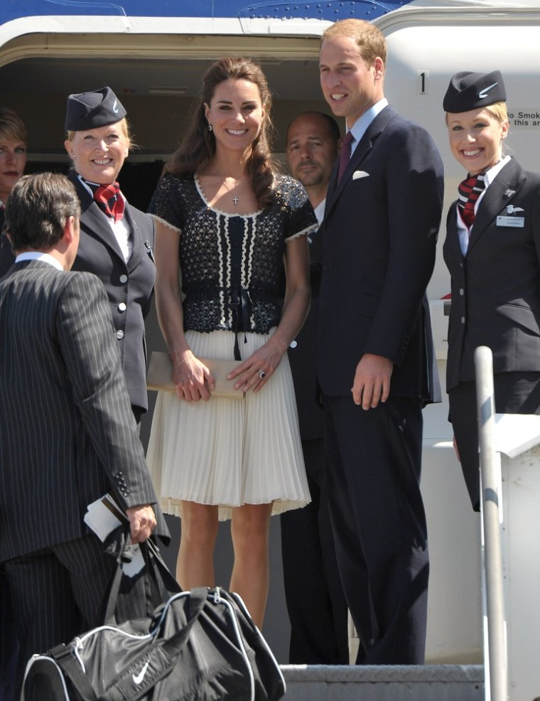 Image: Kate, The Duke And Duchess Of Cambridge