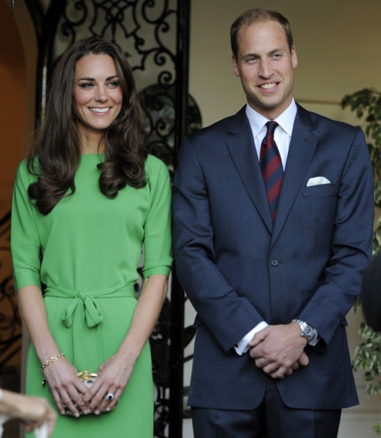 Image: Prince William, Kate Middleton