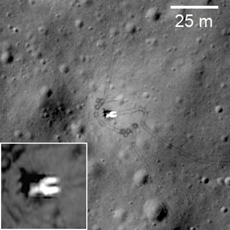 Image: una 17, the lander that carried the Lunokhod 1
