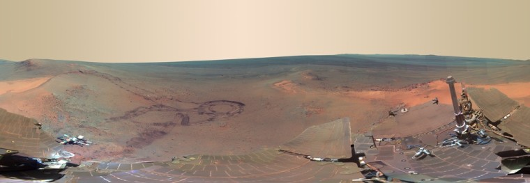 Image: In this handout photo released by NASA J