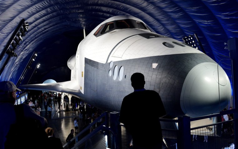 Image: New Space Shuttle Pavilion at the Intrepid Museum in New York