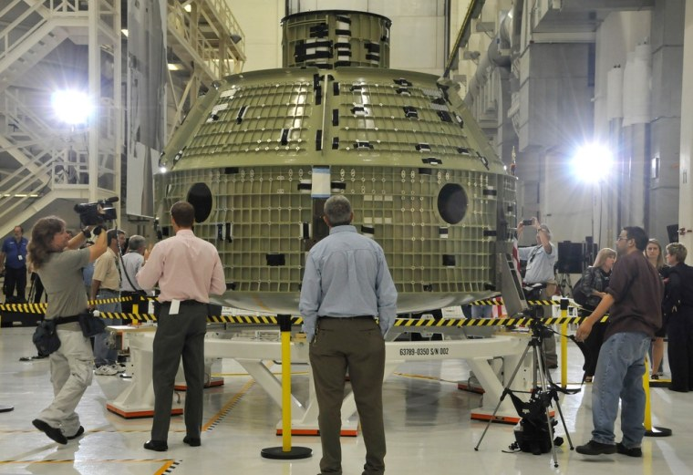 Image: The first flight shell of NASA's new Ori