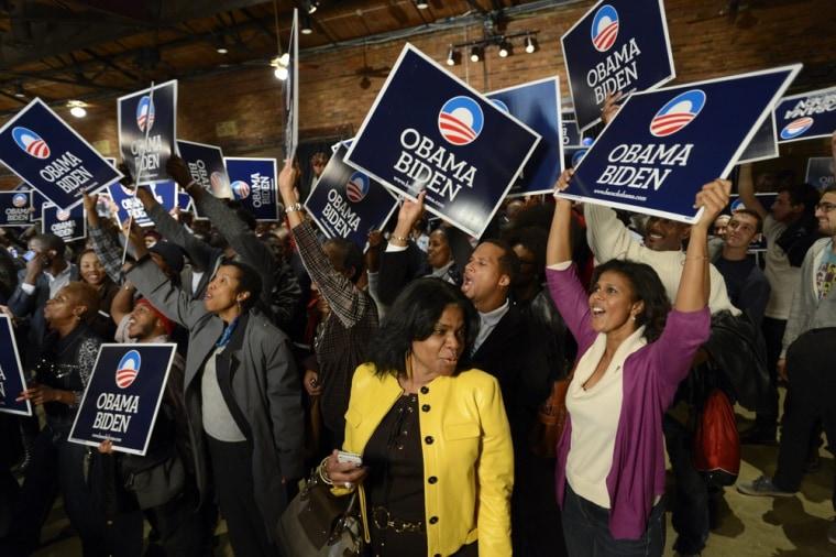 Image: US Presidential Election 2012 - returns