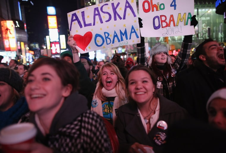 Image: New York Reacts As Obama Wins Second Term