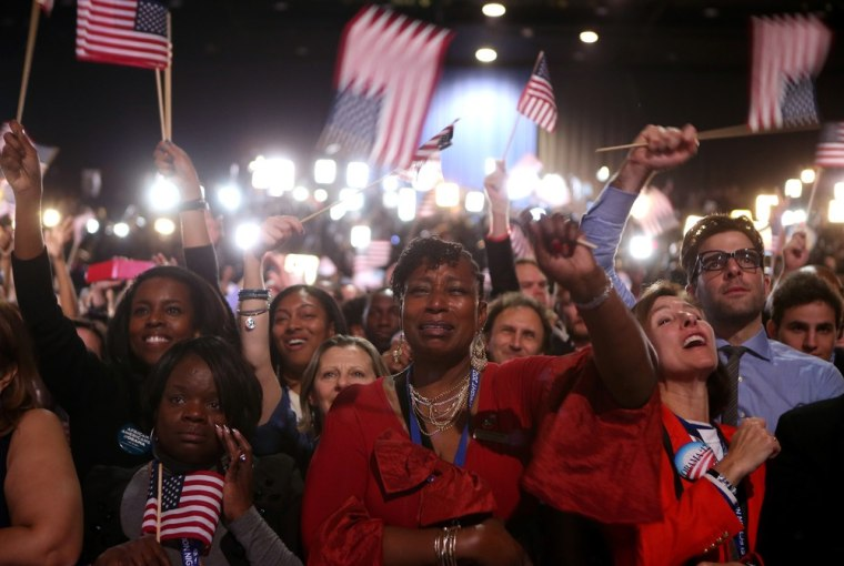 Image: President Obama Holds Election Night Event In Chicago