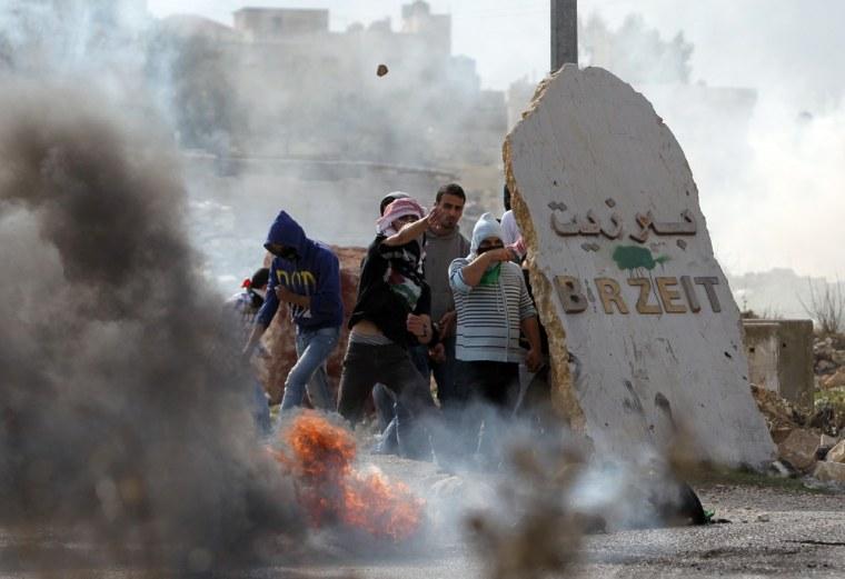 Image: TOPSHOTS-PALESTINIAN-ISRAEL-GAZA-CONFLICT