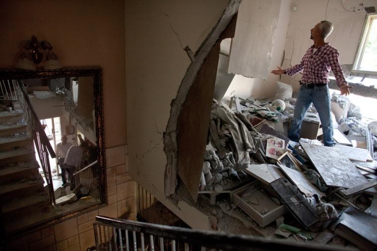 Image: BESTPIX Gaza Militants Continue Rocket Fire Toward Israel