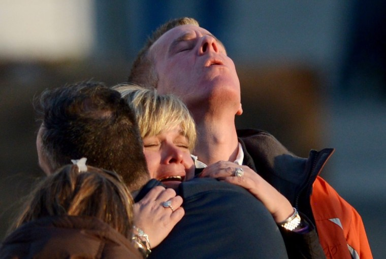 Image: Dozens killed in shooting at elementary school in Connecticiut