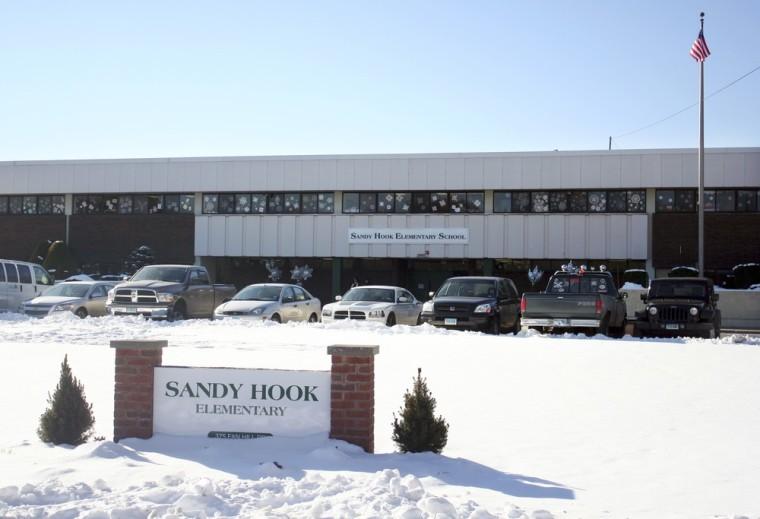 Image: Sandy Hook school sign