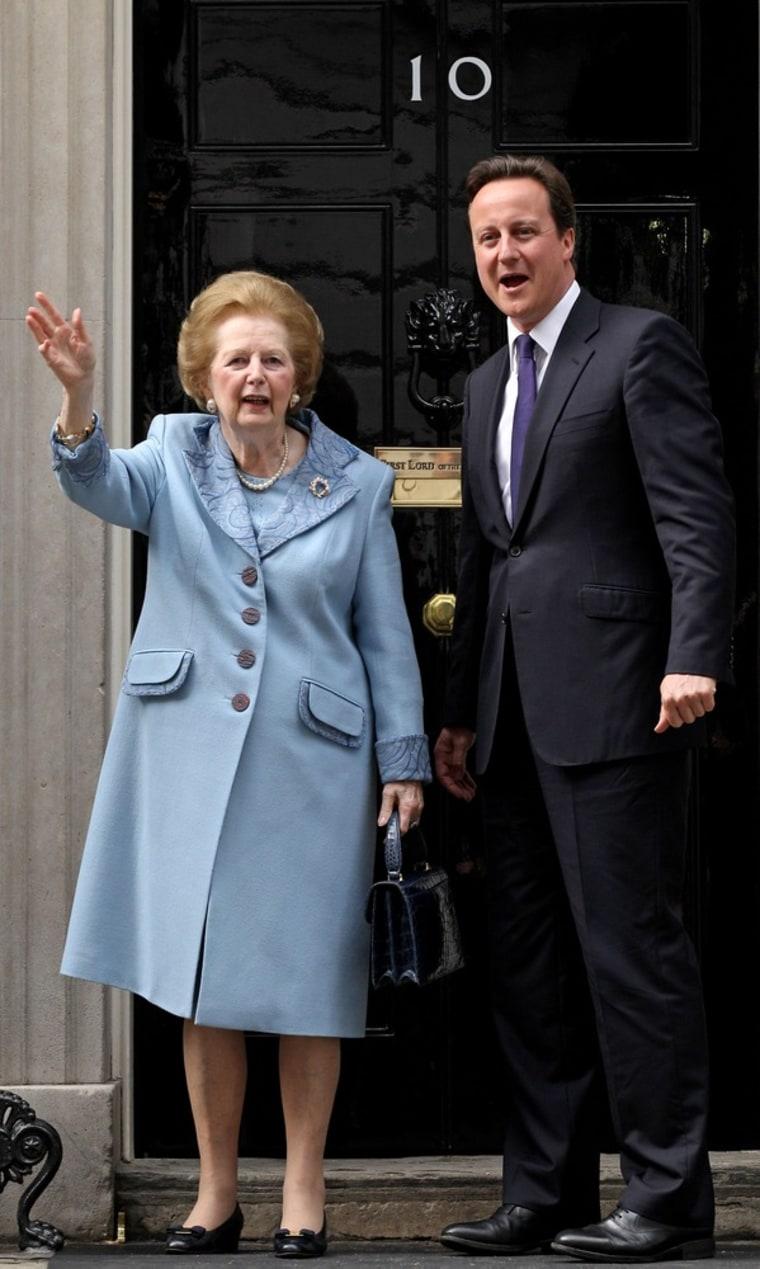 Image: FILE PHOTO:  Margaret Thatcher - October 13, 1925 - April 8, 2013