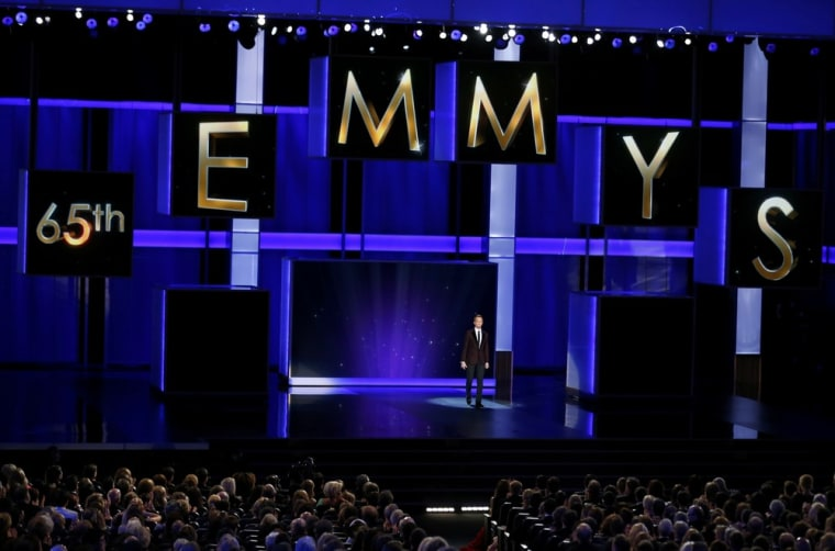 Image: Actor and host Neil Patrick Harris opens the show at the 65th Primetime Emmy Awards in Los Angeles