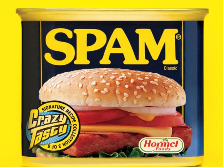 Hormel boosted advertising for the 72-year-old brand last year with the first national print campaign for Spam in five years. Spam sales rose in the double digits for the three-month period ending in April compared with a year earlier.