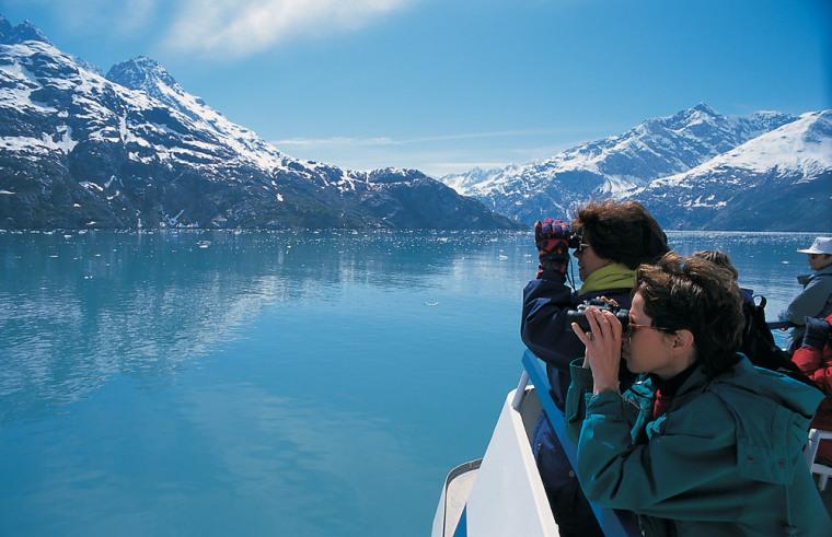 Image: view of Alaskan scenery while on InnerSea Discoveries trip