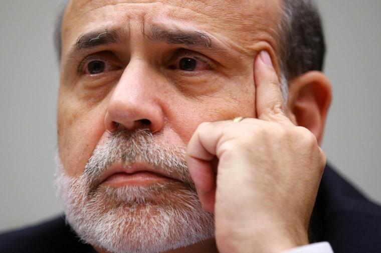 Image: BEST PIX  Bernanke Testifies On Monetary Policy And The Economy