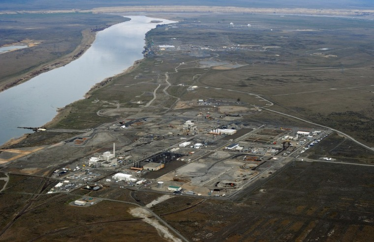 Image: Contaminated nuclear site in Hanford