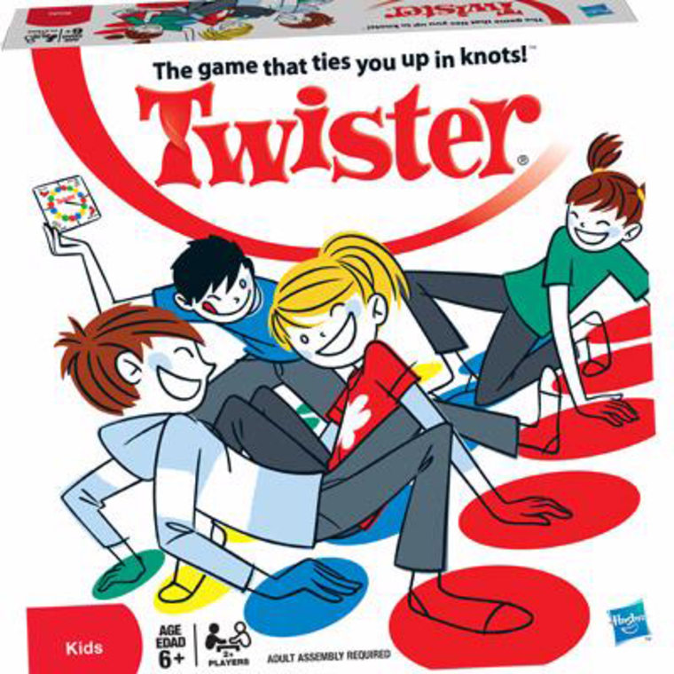 Twister is one of 12 finalists for the National Toy Hall of Fame.