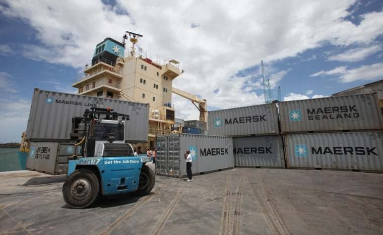 While some shipping companies, such as the world's largest, Maersk, have decided to take their oil tankers around the Cape of Good Hope, others have been reluctant to shoulder the extra expense.