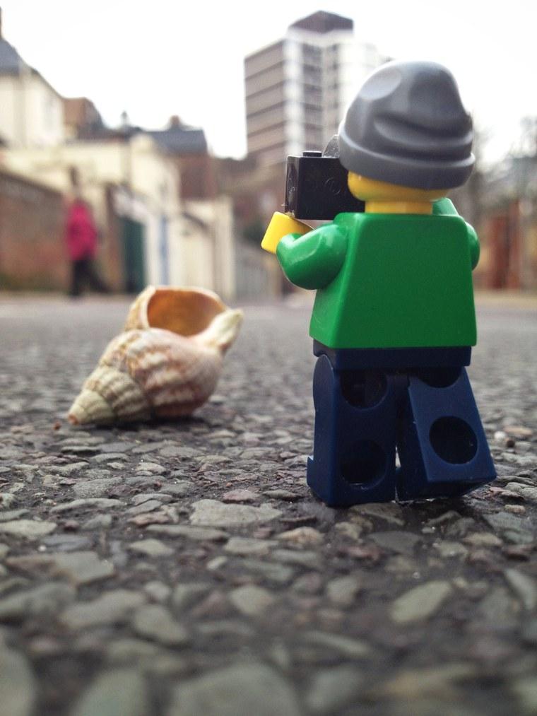 Lego Cameraman
