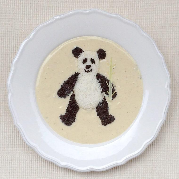 Vanilla yogurt bowl