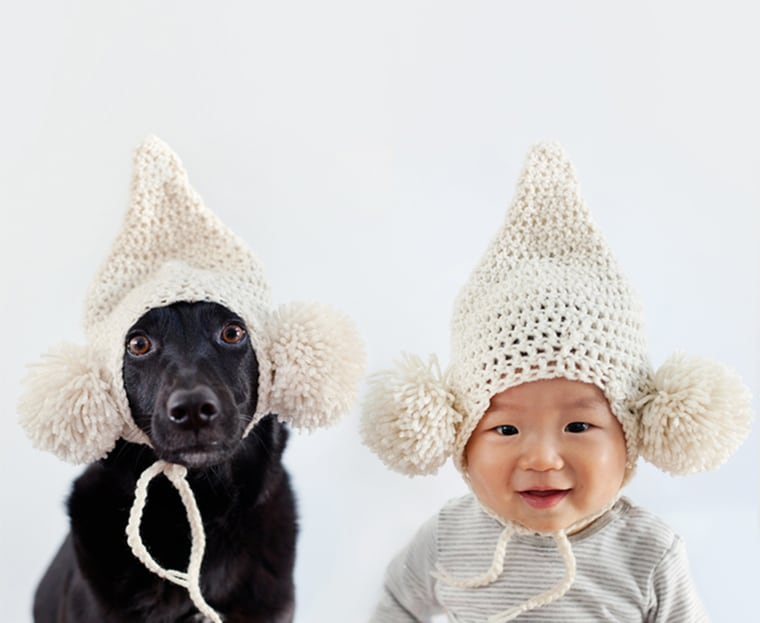 All you need is a best friend and a silly hat.