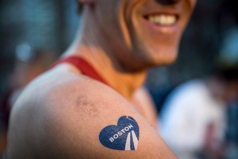 Image: 2014 B.A.A. Boston Marathon