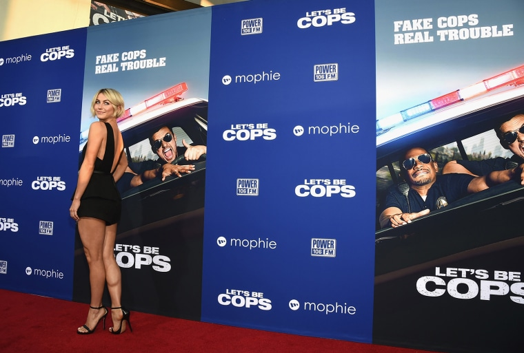 "Image: BESTPIX: Premiere Of Twentieth Century Fox's ""Let's Be Cops"" - Arrivals"