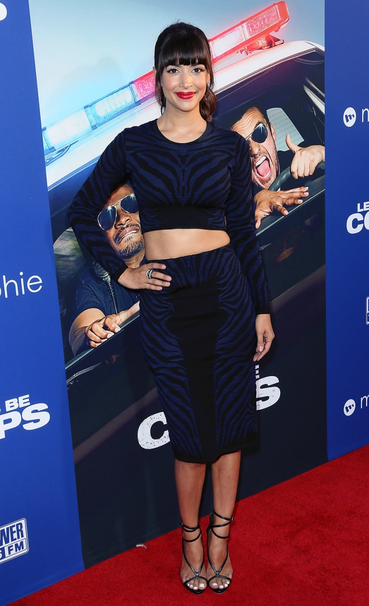 "Image: Premiere Of Twentieth Century Fox's ""Let's Be Cops"" - Arrivals"