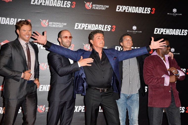 "Image: ""The Expendables 3"" Paris Photocall At Cinema UGC Normandie"