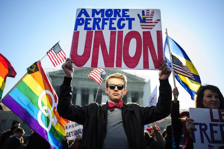 Image: Supreme Court Hears DOMA Case