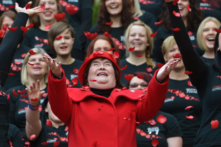 Image: Susan Boyle Launches Poppy Scotland Appeal