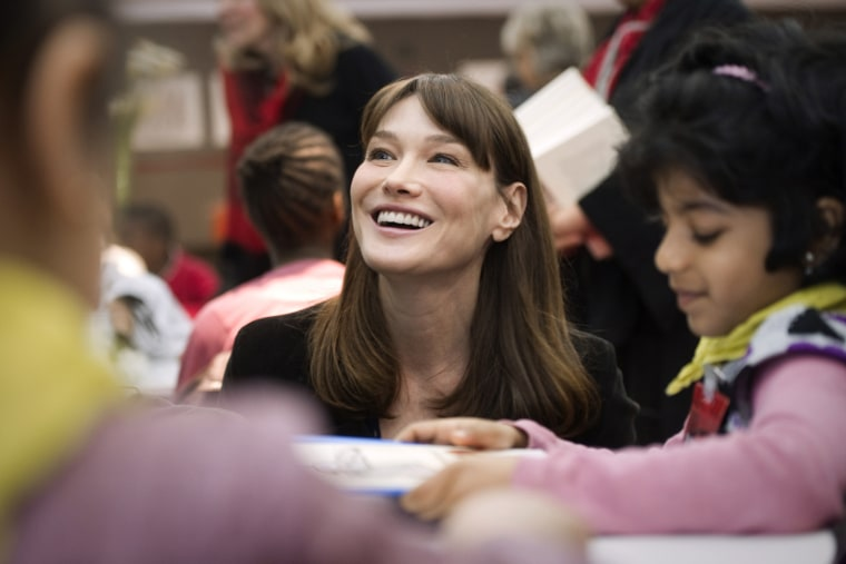 FILES - French First lady Carla Bruni-Sa