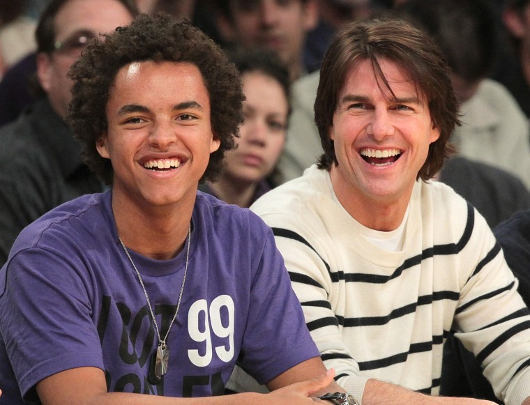Image: Celebrities At The Lakers Game