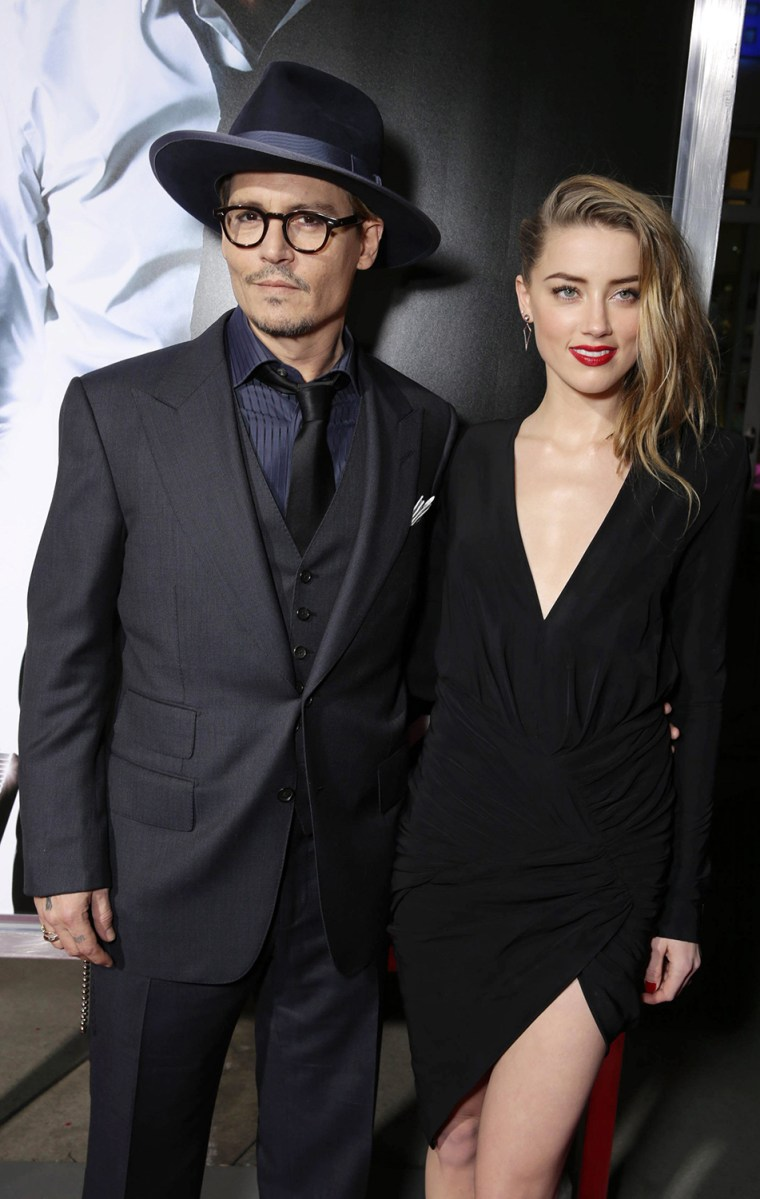 Image: Johnny Depp, Amber Heard