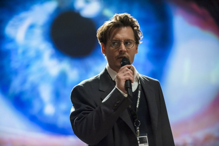 Johnny Depp stars as Will in Warner Bros. Pictures' Transcendence (2014