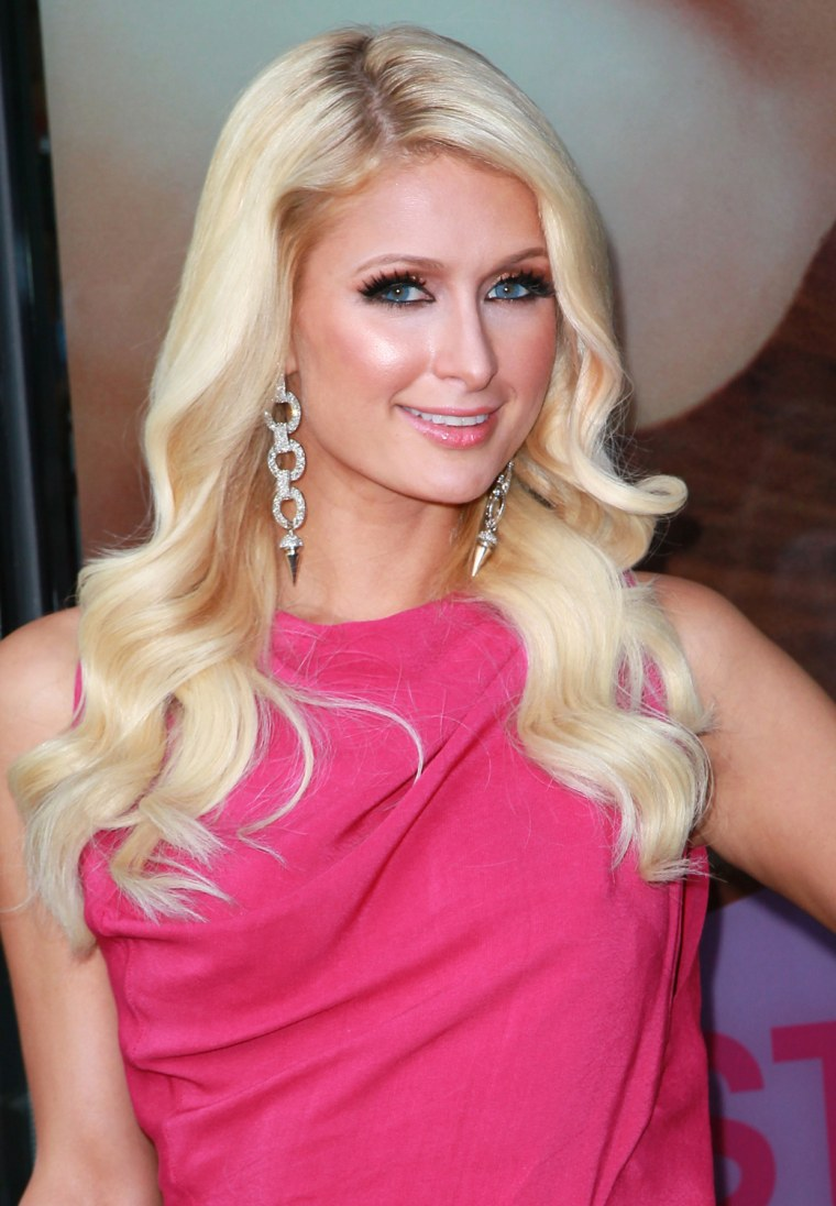 "Image: Paris Hilton Promotes Her New Show ""The World According To Paris"" At Kitson At Santa Monica Place"