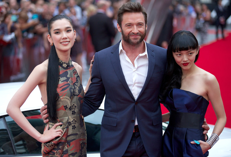 Image: BRITAIN-ENTERTAINMENT-FILM-THE WOLVERINE