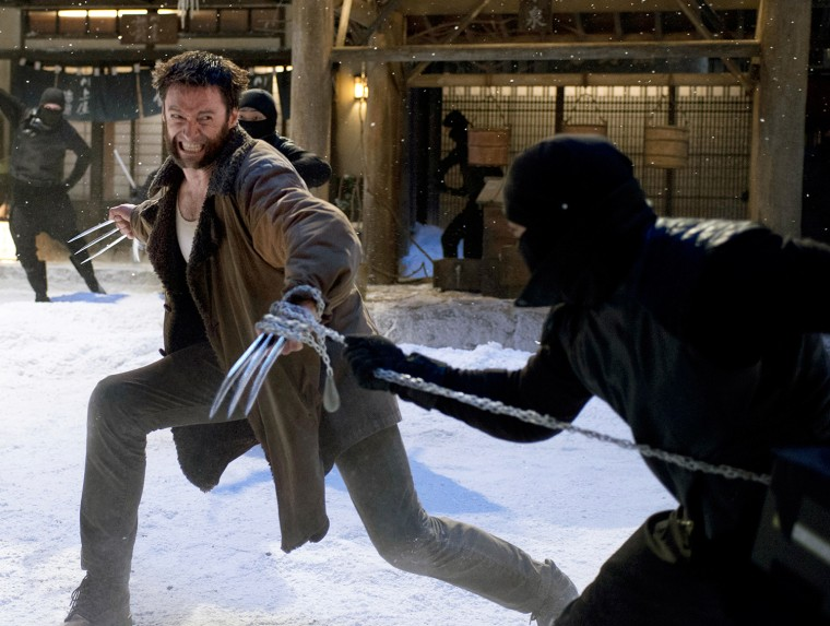 Image: Hugh Jackman in 'The Wolverine'